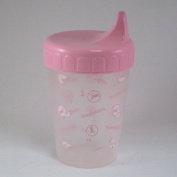 WASHINGTON REDSKINS NO SPILL PROOF CUP 240ml PINK