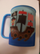 Lenticular Tumbler with Handle ~ Pirate Ship