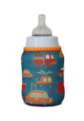 Kidzikoo Baby Bottle/Sippy Cup Insulator - Cars & Helicopters