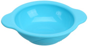Silicone Baby Round Bowl(Blue)