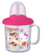 Sanrio Hello Kitty Baby Toddler Kids Straw Cup Mug 210 ml / Made in Japan