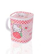 Sanrio Hello Kitty Cute Melamine Kid Mug with Lid
