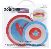 Ocean Dinnerware 5 Piece Set by Zoocchini