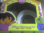 Dora the Explorer & Boots Dinnerware Set : 3 ps set