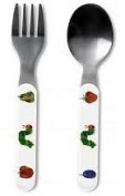 Very Hungry Caterpillar Fork & Spoon Set