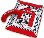 Black, White & Red Prop-up Puppy Activity Playmat