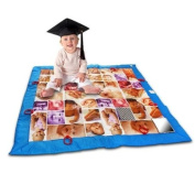 Baby Faces Photo JUMBO Activity Quilt Playmat - Tupelo Toys