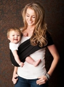 Seven Everyday Slings Baby Carrier Sling Colour Black Size 4/Medium