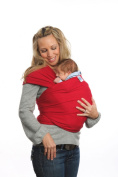 Moby Wrap Original 100% Cotton Baby Carrier, Red