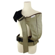 Scootababy Baby Carrier - TAUPE *Bonus* Secure-a-Toy, Rockin' Green Soap & Tooth Tissue samples