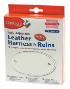 Clippasafe Premium Fully Adjustable Leather Harness & Reins