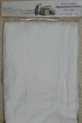 Room to Grow 4-in-1 Single White Fitted Sheet in White