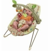 Fisher-Price - Cosy Cocoon Baby Bouncer Seat Woodsy Friends