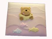 Baby Brag Book Photo Album- 120 4 x 6 photos- keepsake memory photo book for baby first year Babybook
