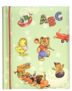 Dolce Mia ABC Playtime Sew Vintage Photo Album - 200 4x6 photos
