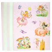 Dolce Mia Fairies Sew Vintage Photo Album - 200 4x6 photos