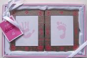 My First Handprint & Footprint Frame Set