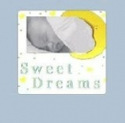 Sweet Dreams Baby Picture Frame