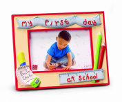 Russ Berrie My First Day At School 10.2cm x 15.2cm Photo Frame