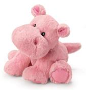 Russ Berrie Noah's Friends 27.9cm Small Pink Happy Hippo