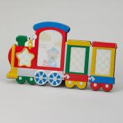Multi Colour Train Photo Frame Holds 4