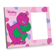 Barney Heart Picture Frame