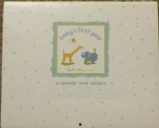 Rare! John Lennon Real Love Baby's First Year Calendar with Stickers - Baby Shower Gift