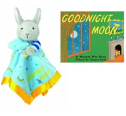 Goodnight Moon Bunny Blankie & Beloved Board Book, Baby Gift Set