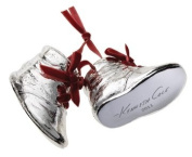 Kenneth Cole Silver Resin Boots/Shoes Christmas Ornament for Macy's [Special Edition]