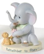 Roman Baby Elephant With Ice Cream * Catholic Baptism Child