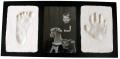 Clay Handprint & Footprint Keepsake Photo Wall Frame - Black