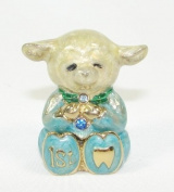 Welforth Fine Pewter Sheep Tooth Box - Boy
