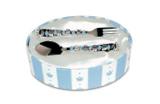 """Mud Pie Baby Prince """"Baby Boy"""" Spoon and Fork"""