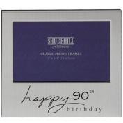 Happy 90th Birthday Photo Frame 12.7cm by 8.9cm