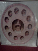 """Baby Essentials """"My First Year"""" Resin Baby Frame"""