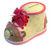 Giftcraft Bootieful Boutique Child's Bank Lovely Bear #482508
