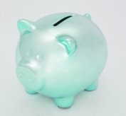 Mini Ceramic Piggy Bank - Ganz Blue Piggy Bank