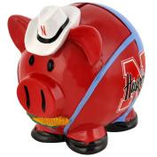 NCAA Nebraska Cornhuskers Resin Large Thematic Piggy Bank