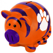NCAA Clemson Tigers Resin Large Thematic Piggy Bank