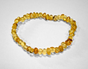 17.8cm Baltic Amber Lemon Bracelet
