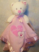"Baby Gear ""Pawfect"" Pink Bear Security Blanket"