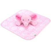 Koala Baby Pink Elephant Security Blanket