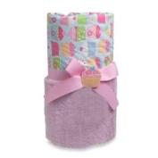 A.D. Sutton Baby Essentials Cupcake Plush Blanket - Pink