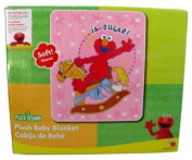 Sesame Street Elmo Plush Baby Blanket with Spanish