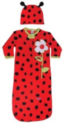 Sozo Baby Bunting & Fitted Cap - Ladybug