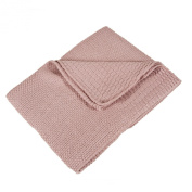Saro Lifestyle BK170 Pink 76.2cm by 101.6cm Baby Blankets, Oblong
