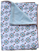 Caden Lane Modern Vintage Collection Moroccan Piped Blanket, Boy, Small