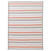 DwellStudio Multi Stripe Blossom Knit Blanket