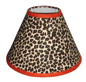 Lamp Shade for Brown Zebra Baby Bedding By Sisi