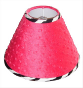 Lamp Shade for Hot Pink Zebra Baby Bedding Set By Sisi
